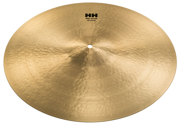 CYMBALES SABIAN HH REMASTERED X-CELERATOR HATS 14″ ET THIN CRASH 18″