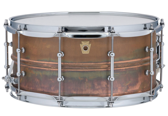 CAISSE CLAIRE LUDWIG RAW COOPER PHONIC 14X6,5″