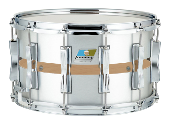 CC LUDWIG 14X8″ SLOTTED COLISEUM SNARE DRUM