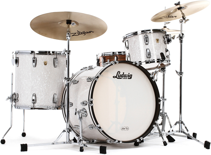KIT LUDWIG CLASSIC MAPLE FAB 22″