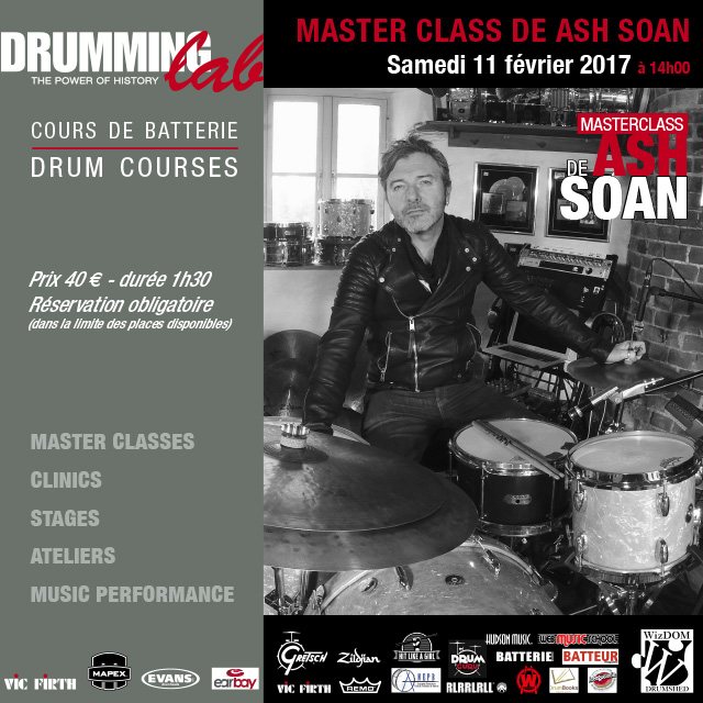 ASH SOAN AU DRUMMING LAB
