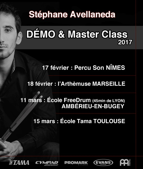 STEPHANE AVELLANEDA EN DEMO ET MASTER CLASS