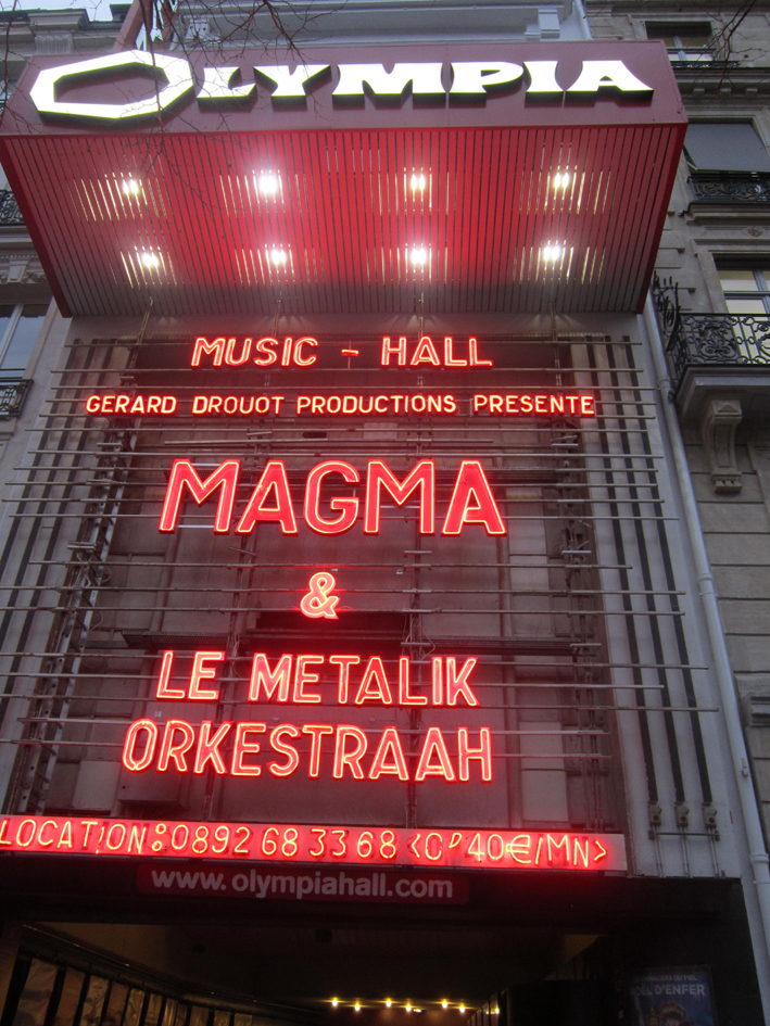 MAGMA – PARIS OLYMPIA HALL – 2 FEVRIER 2017