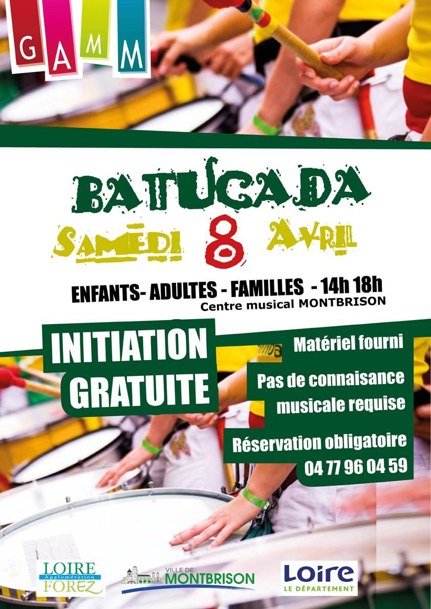 STAGE DE BATUCADA A MONTBRISON