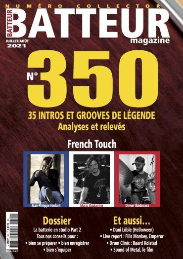 Batteur Magazine 350